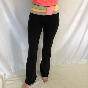 Lululemon Grove Pants Flared Leggings Reversible